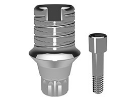 Elos Accurate® Hybrid Base™ Engaging Astra Tech Implant System 3.0