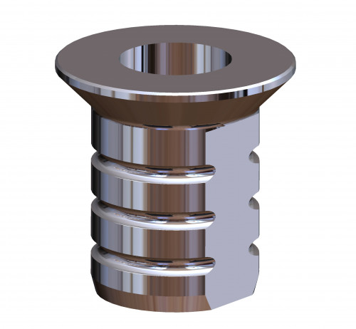 Titanium Inner Sleeves w Depth Stop D2.35/L5 pk10