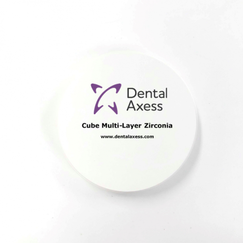 Dental Axess Cube Multi-Layer Zirc 98h16 A-Dark