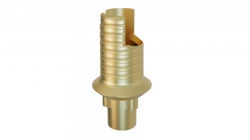 Elos Accurate® Hybrid Base H™ Engaging NobelReplace® and Replace Select™ 3.5 NP