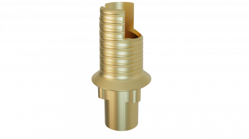 Elos Accurate® Hybrid Base H™ Engaging NobelReplace® and Replace Select™ 4.3 RP