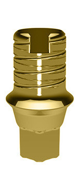 Elos Accurate® Hybrid Base™ Engaging Nobel Conical Connection and NobelActive® 3.0